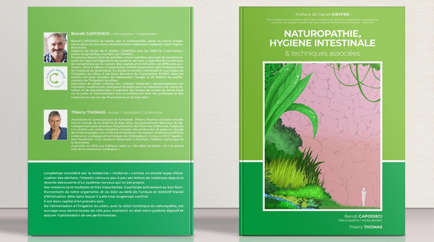 livre nathuropathie & Hygiene Intestinale auteur Benoît Capodieci